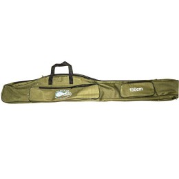 Cover for fishing rods (Beluga / Baziz), color - khaki, 150 cm