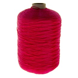 The thread is polyester thermo-light-stabilized extra strong; red, 1.2 mm, length 1600 m