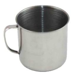 "Stainless mug ""Sledopyt"", 10 sm, 500 ml"