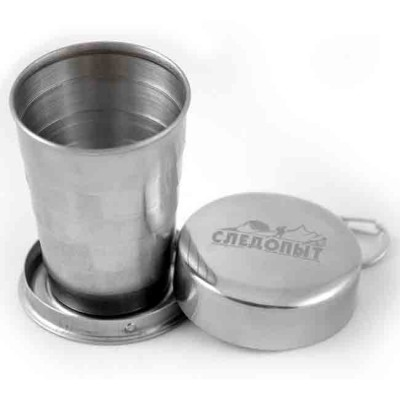 "Big folding cup ""Sledopyt"", 250 ml, from: Следопыт (Россия)"