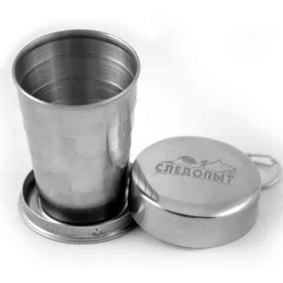 """Middle folding cup """"Sledopyt"""", 150 ml, article Z0000001948, production Следопыт (Россия)"""