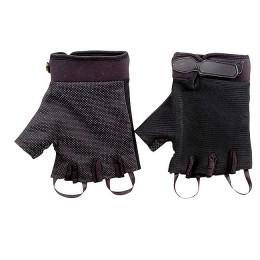 """Перчатки туристические """"Следопыт"""", черные, без пальцев, размер XL"""