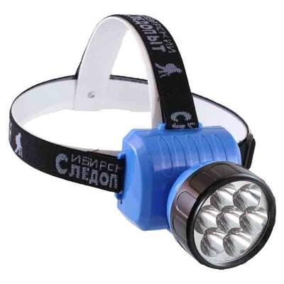 "Headlamp ""Sinirskiy Sledopyt-Fara 12"", 12L, akkum. 220 V, article Z0000002826, production Следопыт (Россия)"