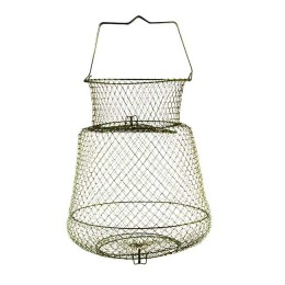 Fishing cage, metal; 30 cm