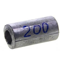 Cargo lead cylinder 200 g, 54 mm x 25 mm x 14 mm (1 pc)