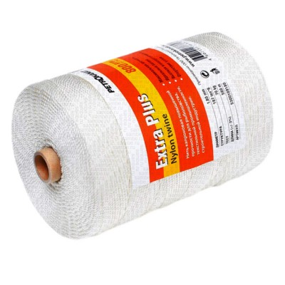 Kapron thread white ExtraPlus, reel 800 grams 1.20 mm, from: Петроканат (Россия)