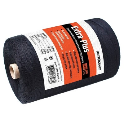 Kapron thread black ExtraPlus, reel 800 grams 1.00 mm, from: NoBrend (Китай)