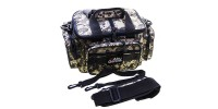 Spinning bag with straps on the shoulder and belt, color: pixel (380x240x190mm)
