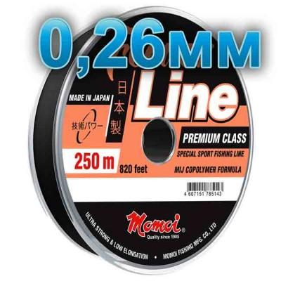 Fishing line Feeder Line Sport; 0.26 mm; test 7.0 kg; length 250 m, article Z0000004934, production Momoi Fishing (Япония)