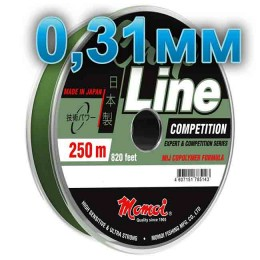Fishing line CARP LINE; 0.31 mm; 9.5 kg test; length 250 m