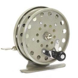Reel 806 for winter fishing rod, metal, diameter 65 mm