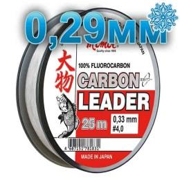 Fluoro Carbon Leader; 0.29 mm; 8.5 kg test; length 25 m