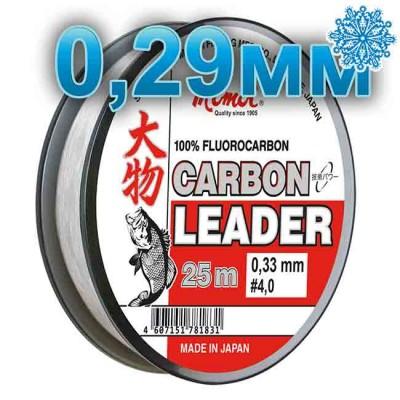 Fluoro Carbon Leader; 0.29 mm; 8.5 kg test; length 25 m, from: Momoi Fishing (Япония)