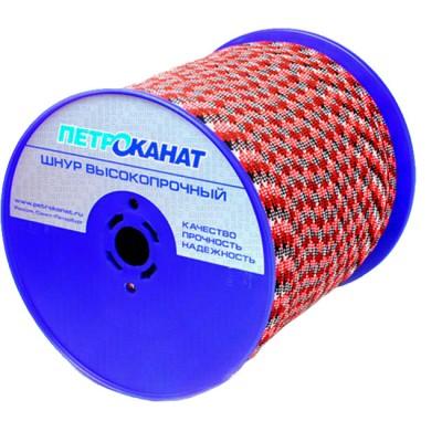 Cord Aqua-Sport braided, static, 6 mm, test 600 kg, 300 m, Eurocurrent, from: Петроканат (Россия)