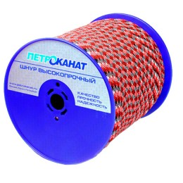 Cord Aqua-Sport braided, static, 10 mm, test 1100 kg, 220 m, Eurocurrent