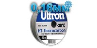 Fluorocarbon Ultron HT-Fluorocarbon; 0.16 mm; 2.4 kg test; length 25 m