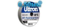 Fluorocarbon Ultron HT-Fluorocarbon; 0.50 mm; 17.5 kg test; length 25 m