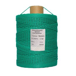 Polyethylene thread, green 2.2 mm, 3.8 kg bobbin