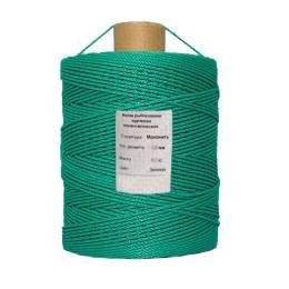 Polyethylene thread, green 2.5 mm, 4.5 kg bobbin