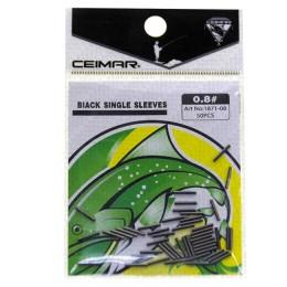 Crimping (crimping tubes); 0.8 mm, 50 pcs.