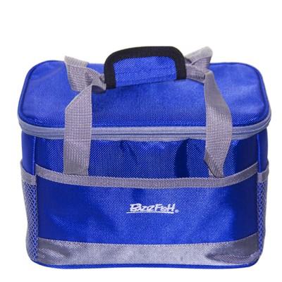 Bagwarm 24x15x16 cooler bag blue, nature walks and travel, from: NoBrend (Китай)