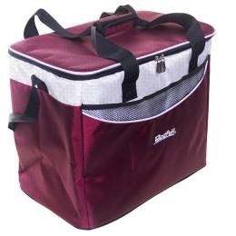 Bagwarm cooler bag 40x25x32 burgundy, walks in nature and travel
