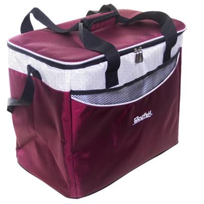 Bagwarm cooler bag 40x25x32 burgundy, walks in nature and travel, from: NoBrend (Китай)
