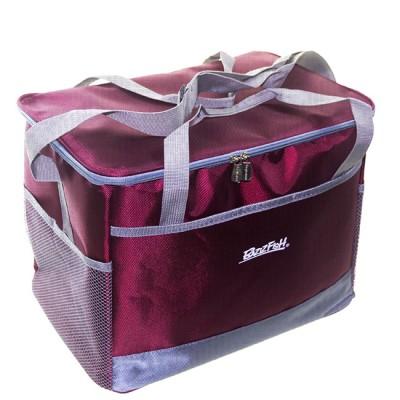 Bagwarm cooler bag 36x24x28 burgundy, walks in nature and travel, from: NoBrend (Китай)