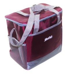 Bagwarm cooler bag 30x20x28 burgundy, walks in nature and travel