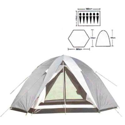 Tent tourist spot 6, art. 1910, article Z0000005485, production Bazizfish (Китай)
