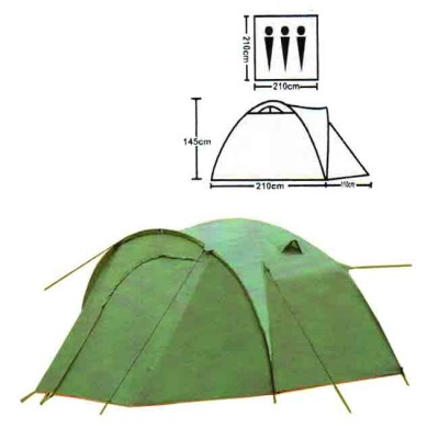 Tent tourist spot 3, no. XFY-1677, from: Bazizfish (Китай)