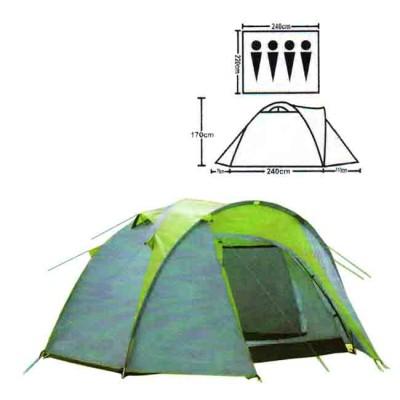 Tent tourist spot 4, no. XFY-1677D, from: Bazizfish (Китай)