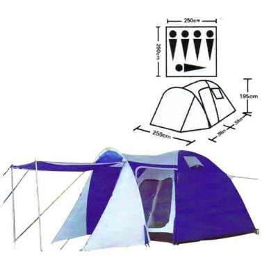 Tent tourist spot 5, no. XFY-1607D, article Z0000005532, production Bazizfish (Китай)