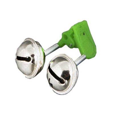 Fishing bell, type 1/2, green, from: NoBrend