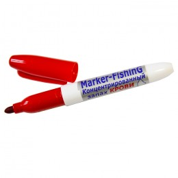 Blood odor marker red, for spinners