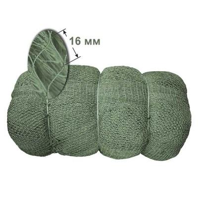 16 mm, h = 250 ball, del Astrakhan 93.5 * 3 kapron 0.8 mm green (pack 15 kg), from: NoBrend (Китай)