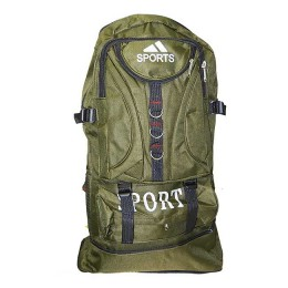 Fisherman and tourist backpack, khaki 30 l