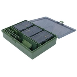 A set of boxes for carp fishing Carp Box (for storing fishing tackle, baits, boilies)