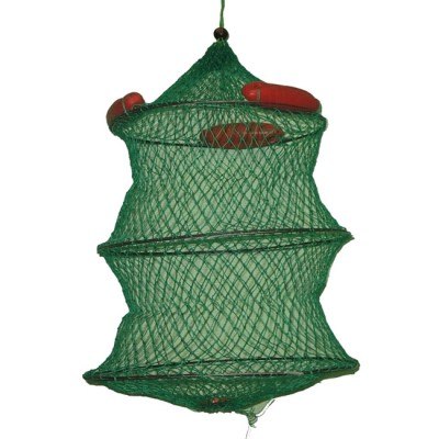 Floating cage, 3 elastic braided rings, dia. 40 cm, length 45 cm, green, from: Пронтекс (Россия)