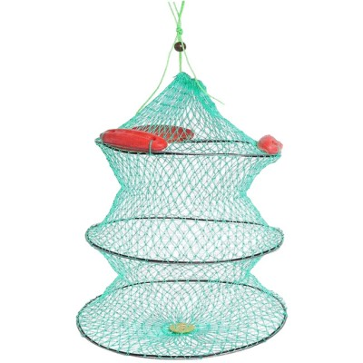 Floating cage, 3 elastic braided rings, dia. 45 cm, length 45 cm, green, from: Пронтекс (Россия)