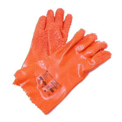 """Gloves """"Octopus"""" fish processor PVC (bubble wrap for a secure grip) XL, from: Пронтекс (Россия)"""