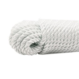 Anchor twisted rope 10.0 mm, test 2500 kg, white 45 m (eurocurrent)