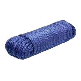 Braided rope ANCHOR 8,0 mm, 650 kg, 45 m (eurocurrent) blue