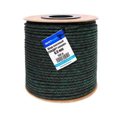 Braided cord STANDARD camouflage 6.0 (150 m), on a reel, from: Пронтекс (Россия)