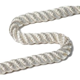 Polyamide rope PAT 10.0 mm, test 1670 kg, 200 m, white (coil 10.5 kg)