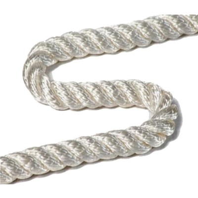 Polyamide rope PAT 10.0 mm, test 1670 kg, 200 m, white (coil 10.5 kg), from: Пронтекс (Россия)