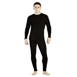 Set of men's sweatshirt and underpants, 100% Polypropylene, size S