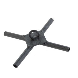 Crosspiece extended for the Kippik-6.0 elevator, under arches of 6 mm (steel)