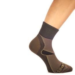 Thermal socks thin, 100% Polypropylene, color gray, size 41-43 (L)