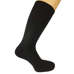 Thermal socks of medium thickness, color black, size 41-43 (L)